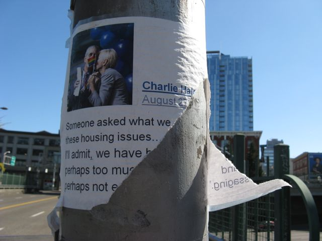 Flyer on Burnside