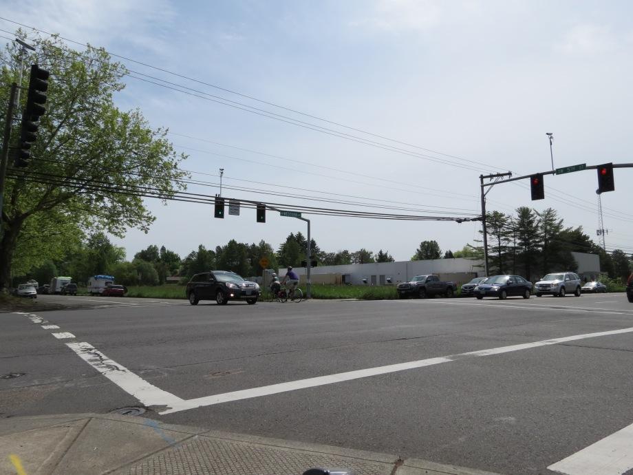 SW Western Ave & 5th Street in Beaverton