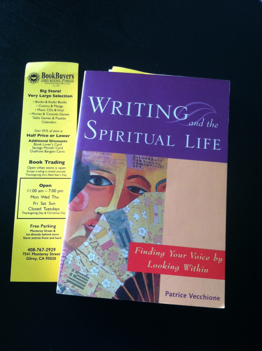 book - writing and the spiritual life