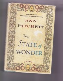 Front cover of Ann Patchett's novel State of Wonder